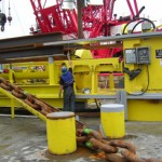 Testing system for permanent seabed mooring anchors